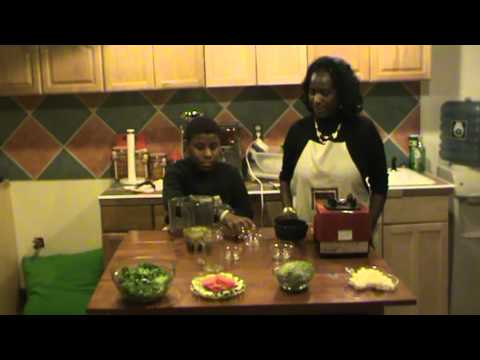 Foods Without Fire Season 1 Episode 3 Raw Caesar Salad Dressing