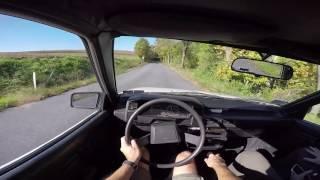 Driving an 1987 Toyota AE82 Corolla FX Hatch