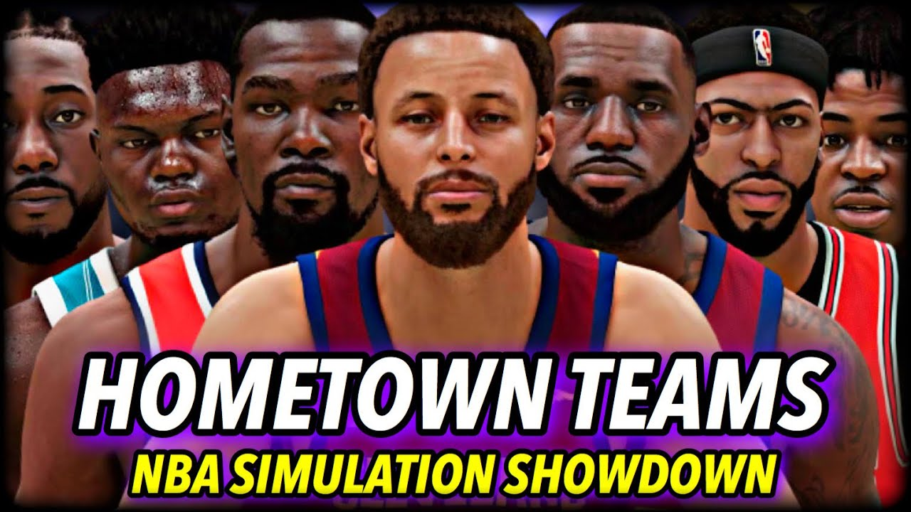 I Put Every NBA Player On Their HOMETOWN TEAMS... here's what happened.