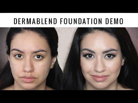 Dermablend Smooth Liquid Camo Foundation Demo & Review