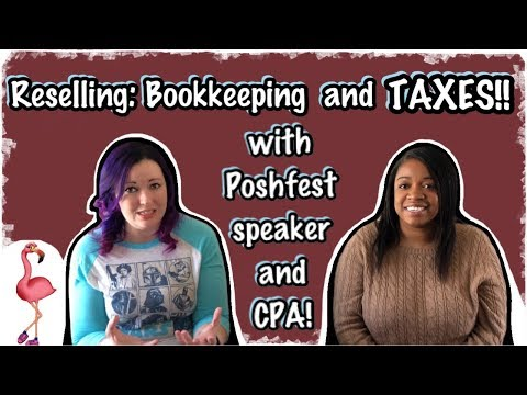 Taxes for Reselling! Interview with CPA for Poshmark, eBay, Mercari