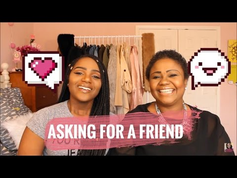CAN I BE FRIENDS WITH MY EX? | Asking For a Friend feat. My African Mom