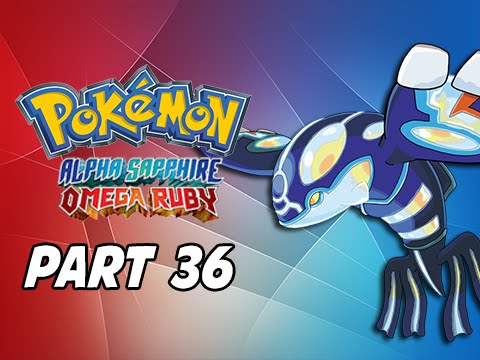 Pokemon Omega Ruby & Alpha Sapphire Walkthrough Part 36 - Catch Primal Kyogre (3DS Commentary)