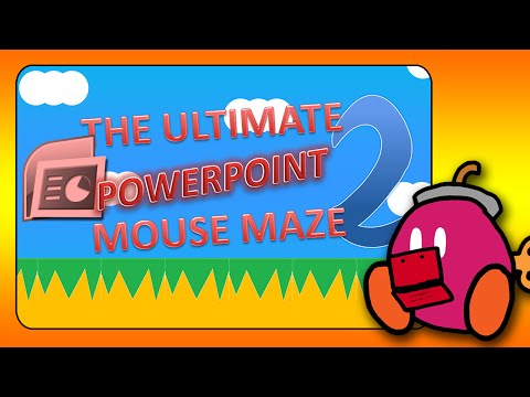 The Ultimate PowerPoint Mouse Maze 2 Trailer