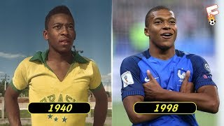 The Best Footballer Born In Every Year From 1939 - 2000 ⚽ Footchampion