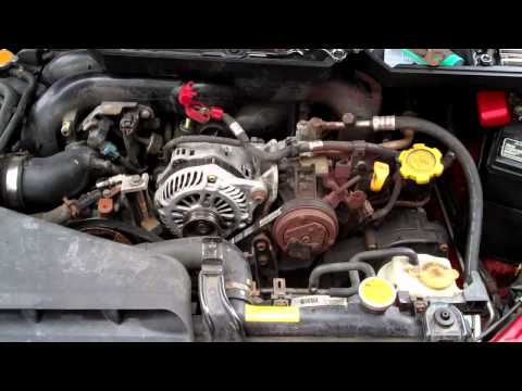 How to install subaru outback alternator