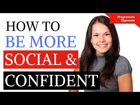 ★ Be More Confident Hypnosis ★ Increase Social Confidence and Overcome Social Anxiety