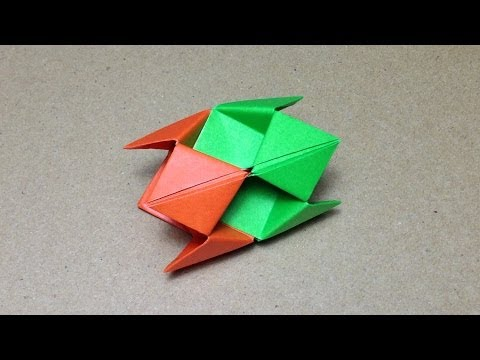 Modular Origami / How to make an Origami Ball