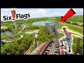 We Got Caught EXPLORING ABANDONED SIX FLAGS