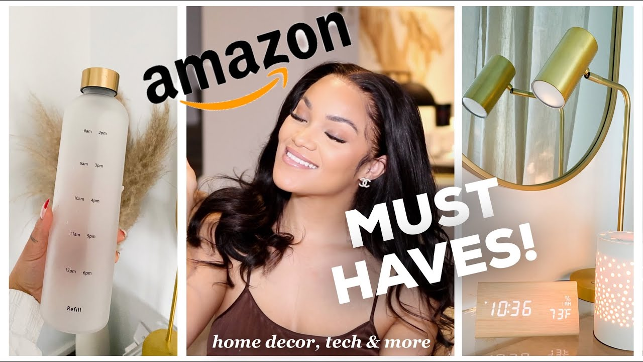 AMAZON MUST HAVES 2021! THINGS YOU NEED FROM AMAZON | AMAZON FAVORITES ALLYIAHSFACE AMAZON HAUL 2021