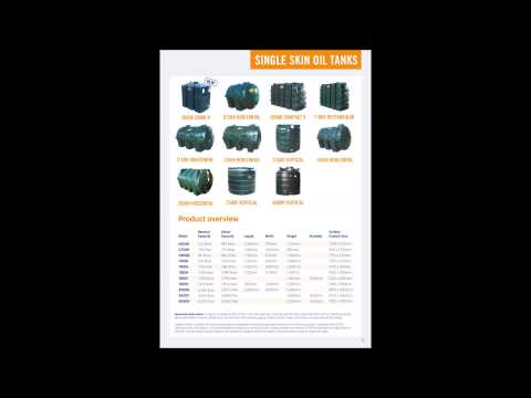 Carbery Plastics Home Heating Oil Tanks