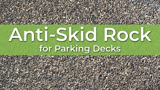 Download Repairing a Parking Deck with Armorstone® | The Anti-Skid Rock & Calcined Bauxite Alternative Video