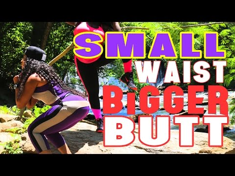 HOW TO GET A SMALLER WAIST AND BIGGER BUTTOCKS WITH EXERCISE |THICK FIT COLLAB WITH @TAIMcQUEEN