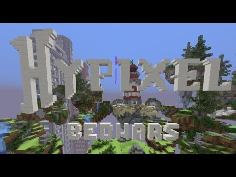 HYPIXEL BEDWARS AND THE BRIDGE!!