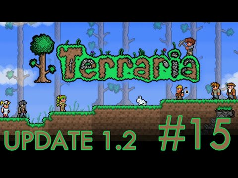 Terraria: iOS ANDROID UPDATE 1.2 - The Wall of Flesh Win! | Gameplay #15