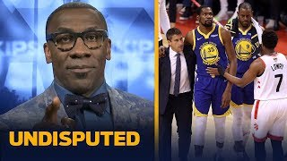 'This is wrong ... Kevin Durant should not have played' in GM 5 — Shannon Sharpe   NBA   UNDISPUTED