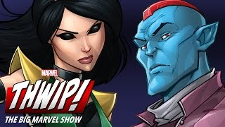 Guardians Makeup on THWIP! The Big Marvel Show!