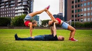 Extreme Yoga Challenge with JORDAN MATTER