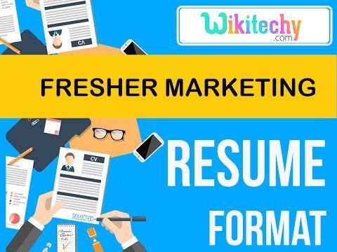 resume | fresher marketing resume | sample resume | resume templates | c v template