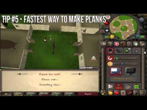 OSRS Ironman Tips & Tricks - Episode 2 - Making Planks/Closing Interfaces Faster/Trading Sticks
