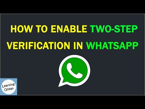 How to Enable Two-Step Verification in WhatsApp In Hindi