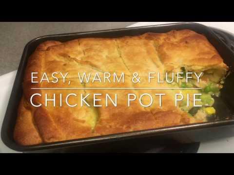 How to Make a Warm & Fluffy Chicken Pot Pie