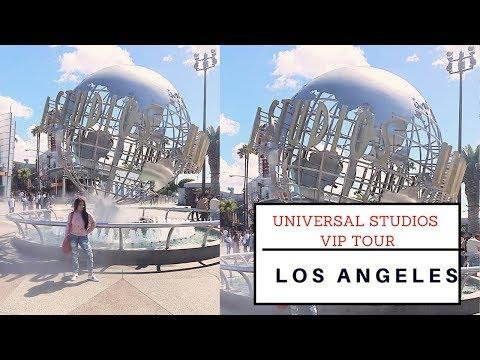 VIP TOUR   UNIVERSAL STUDIOS   LOS ANGELES   SONAL MAHERALI