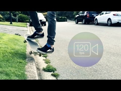 iPhone 5S: Slow-Motion Video Test (120fps)