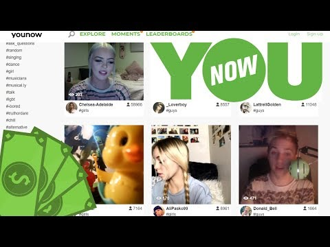Make Money with a YouNow Broadcast - Get Paid to Chat
