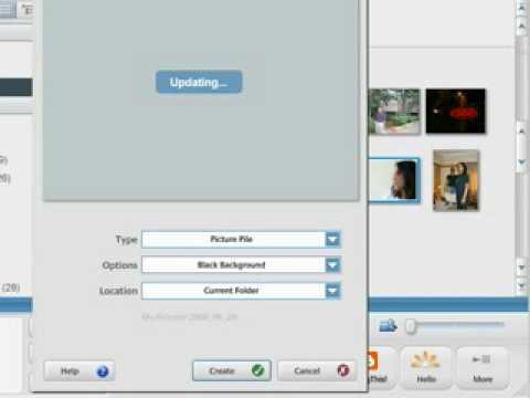 Create Photo Collage inside Picasa