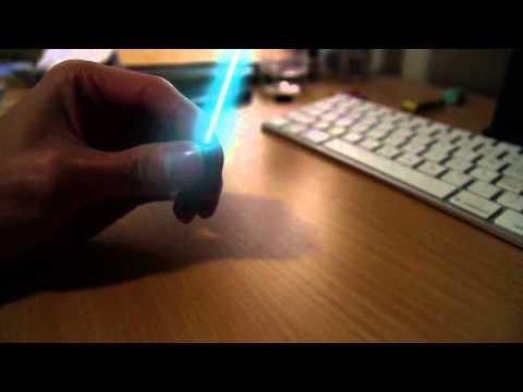 Mini Lightsaber that works!