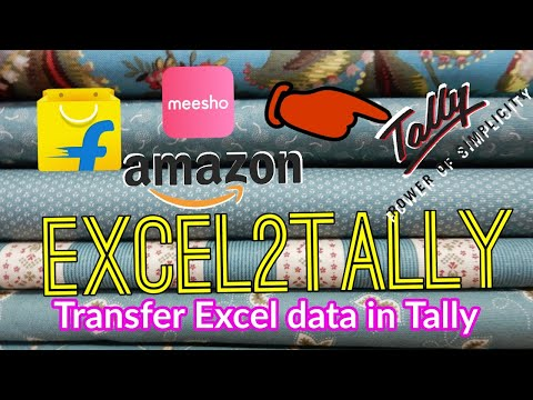 EXCEL TO TALLY - CREDIT AND DEBIT NOTE IMPORT ☑️