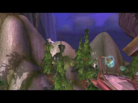 Wow Cataclysm beta-Mount Hyjal