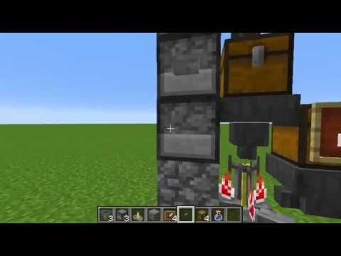Minecraft - How to make an automatic brewer (1.8) [HD]