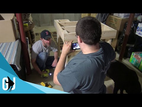 #536: Greg and Mike build a DIY Aquarium Stand - Update Monday