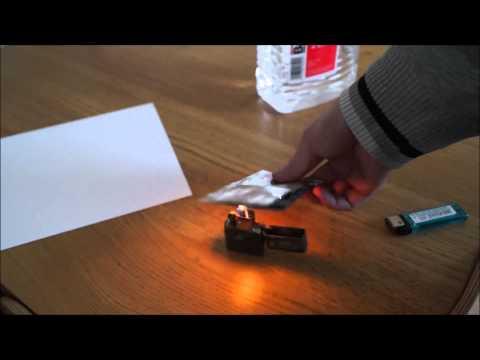 Zippo lighter running on white spirit / mineral spirits alternative for lighter fuel?