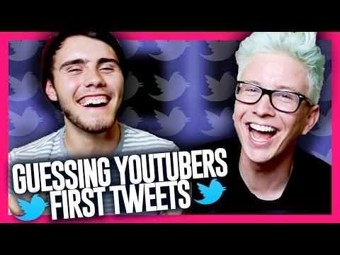 Guessing YouTubers' First Tweets (ft. Alfie Deyes)   Tyler Oakley