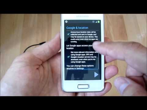 Firmware upgrade for Galaxy S Advance, Android 2.3 to 4.1, audio: English