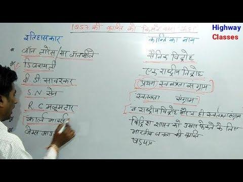 1857 की क्रांति को किस इतिहासकार ने क्या कहा For UP Police and RRB Railway exam
