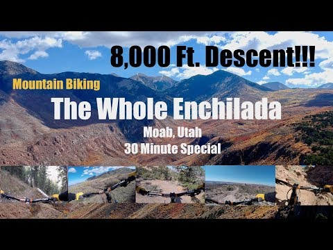 Mountain Biking The Whole Enchilada, Moab Utah (30 Minute Special) Stabilized HD