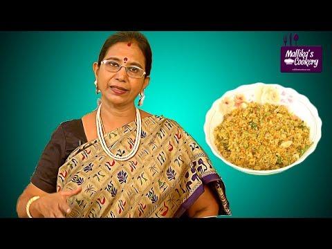 Vegetable Bread Upma | Mallika Badrinath Recipes | Homemade Breakfast & Snacks Recipe