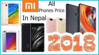Xiaomi Phones Latest Price in Nepal .. स्याओमी फोनहरुको नेपाली मुल्य ??