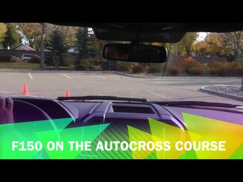 Ford Autocross Learn and Drive Edmonton