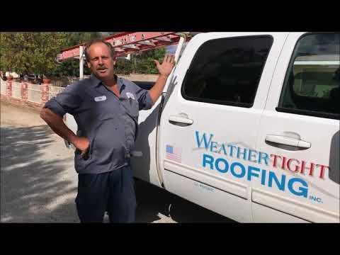 Roof Inspection  - Broken Tile  - Roof Leak