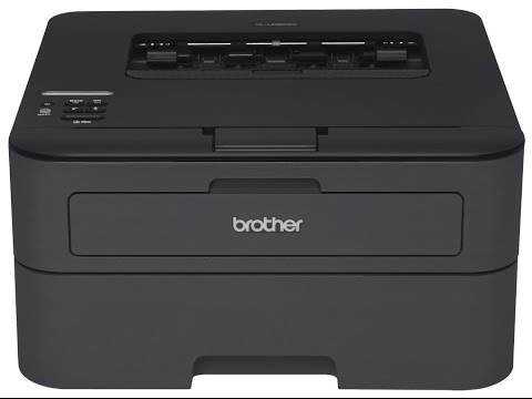 Brother LASER Printer Install Setup and Wifi  HL-L2300D HL-L2320D HL-L2340DW HL-L2360DW