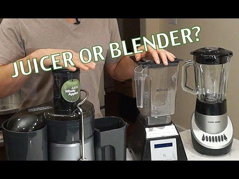 Juicer or Blender for Green Juices/ Smoothies- BenjiManTV