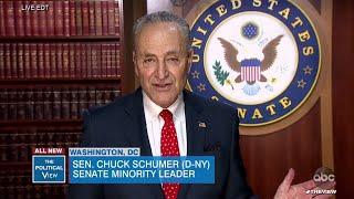 Senate Minority Leader Chuck Schumer Details Stimulus Bill for Cononavirus Crisis | The View