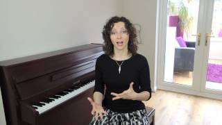 How To Sing The Major Scale - Singers Advice