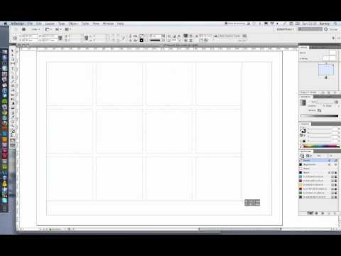 Create an editable contact sheet