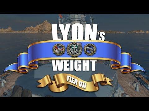World Of Warships - Marine Nationale! [Episode 3] - Lyon's Weight